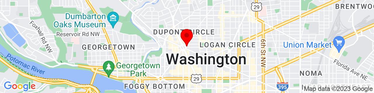 Google Map of 38.9099013, -77.0423801