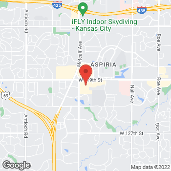 Map of buybuy BABY at 12055 Metcalf Avenue, Overland Park, KS 66213