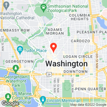 Map of LOFT at 1611 Connecticut Avenue, Washington, DC 20009