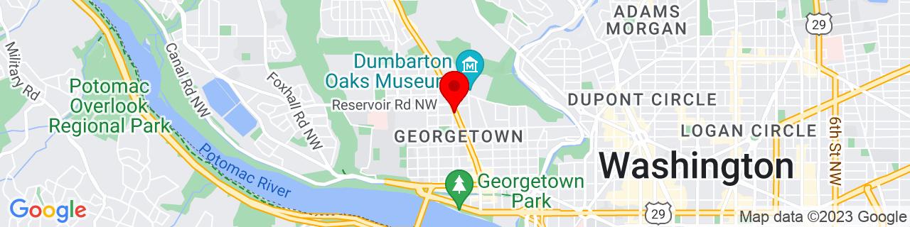 Google Map of 38.91189809999999, -77.0659033