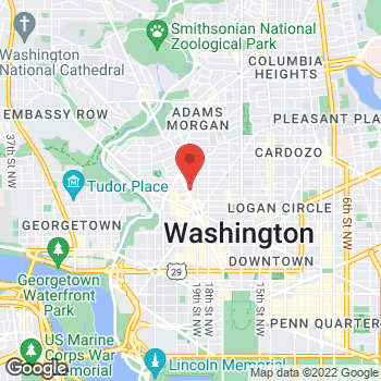 Map of Hair Cuttery at 1645 Connecticut Avenue Nw, Washington, DC 20009