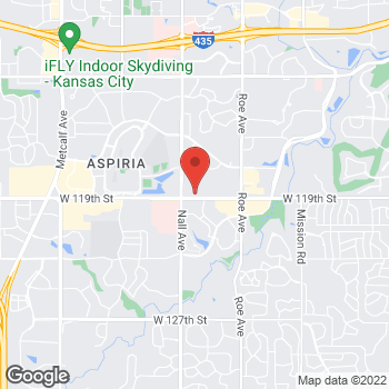 Map of Verizon Authorized Retailer – TCC at 5280 W 119th St, Leawood, KS 66209