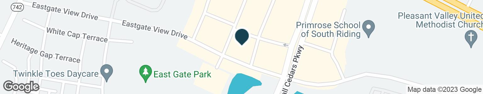 Google Map of25421 EASTERN MARKETPLACE PLZ