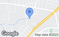Map of Hyattsville, MD