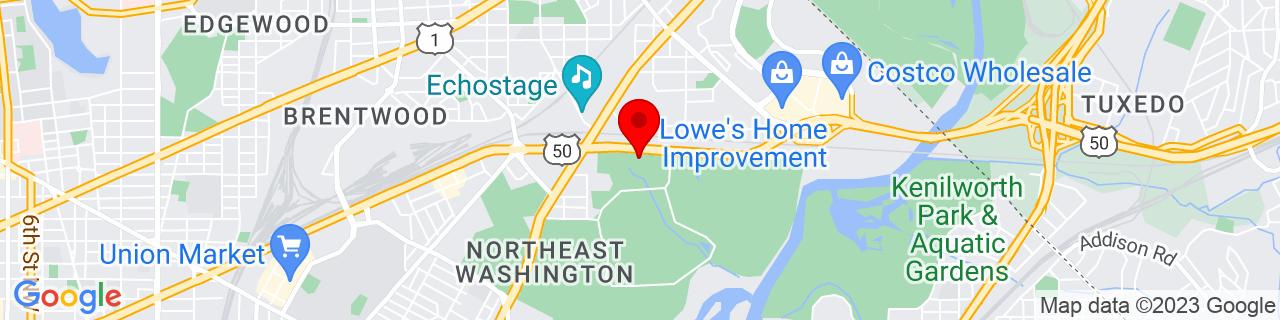 Google Map of 38.9166, -76.9677169