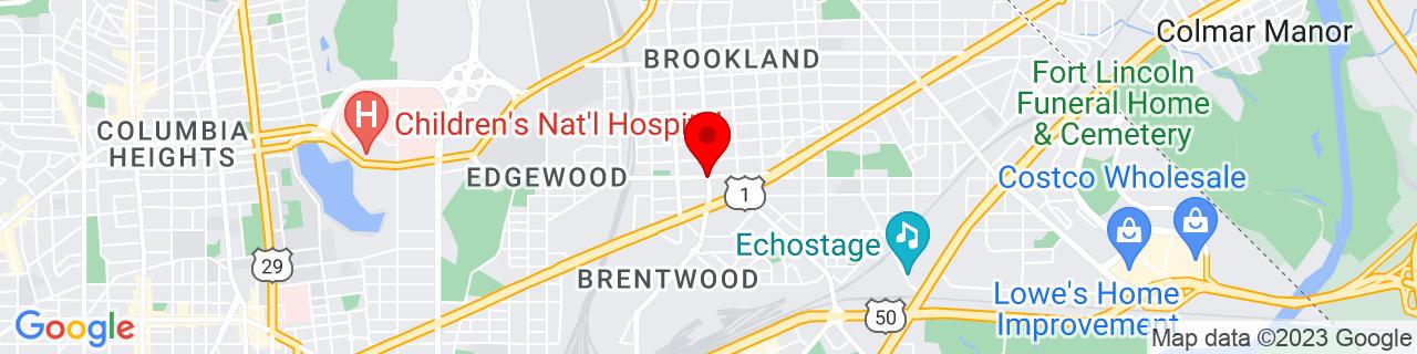 Google Map of 38.925576, -76.9881166