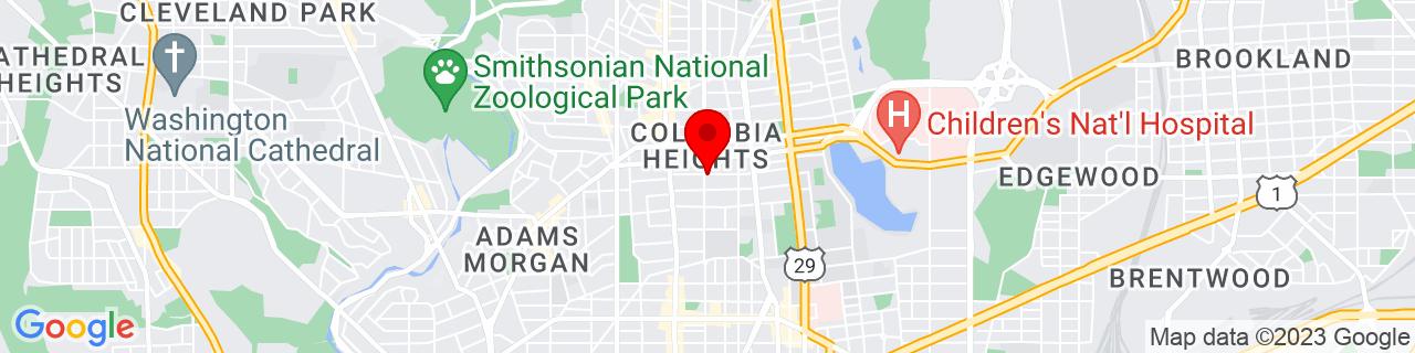 Google Map of 38.9256724, -77.0294287