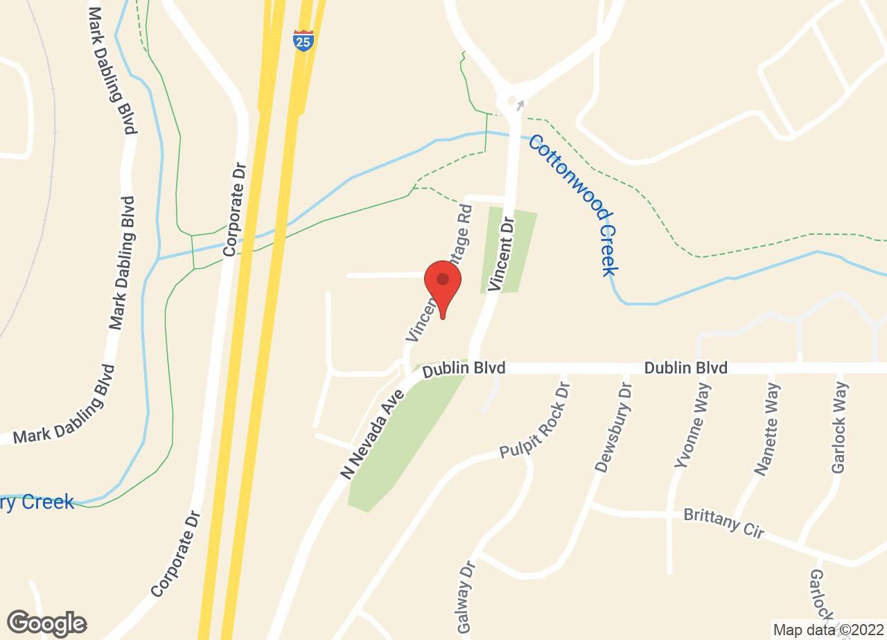 Google Map of VCA Dublin Animal Hospital