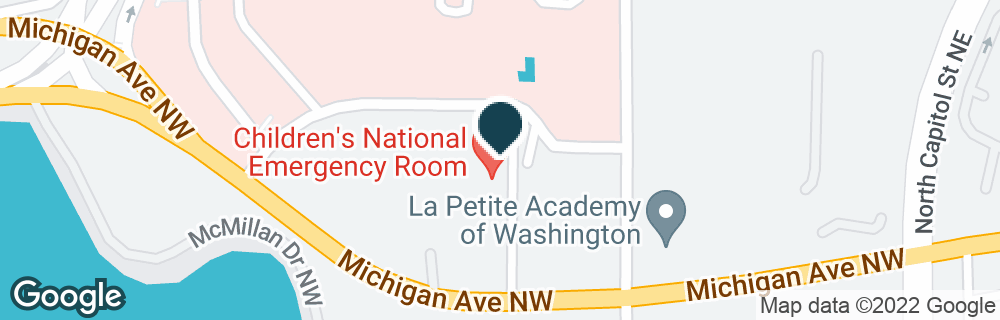 Google Map of111 MICHIGAN AVE NW