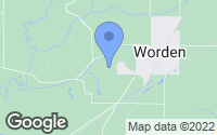 Map of Worden, IL