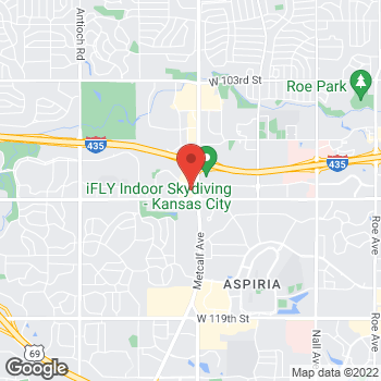 Map of Panera Bread at 11022 Metcalf Avenue, Overland Park, KS 66210