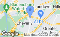 Map of Cheverly, MD