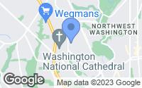 Map of Washington, D.C., DC