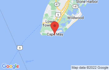 Map of Cape May