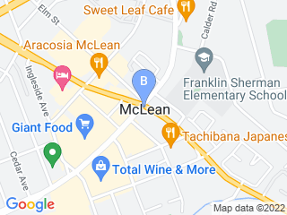 Map of KSR Pet Care Dog Boarding options in McLean | Boarding