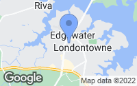 Map of Edgewater, MD