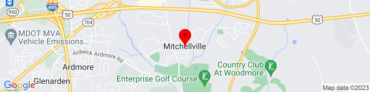 Google Map of 38.9382537, -76.8201976