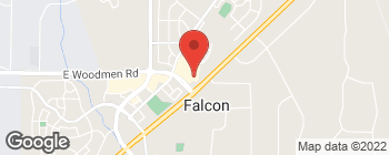 Map of 7685 McLaughlin Rd in Falcon
