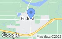 Map of Eudora, KS