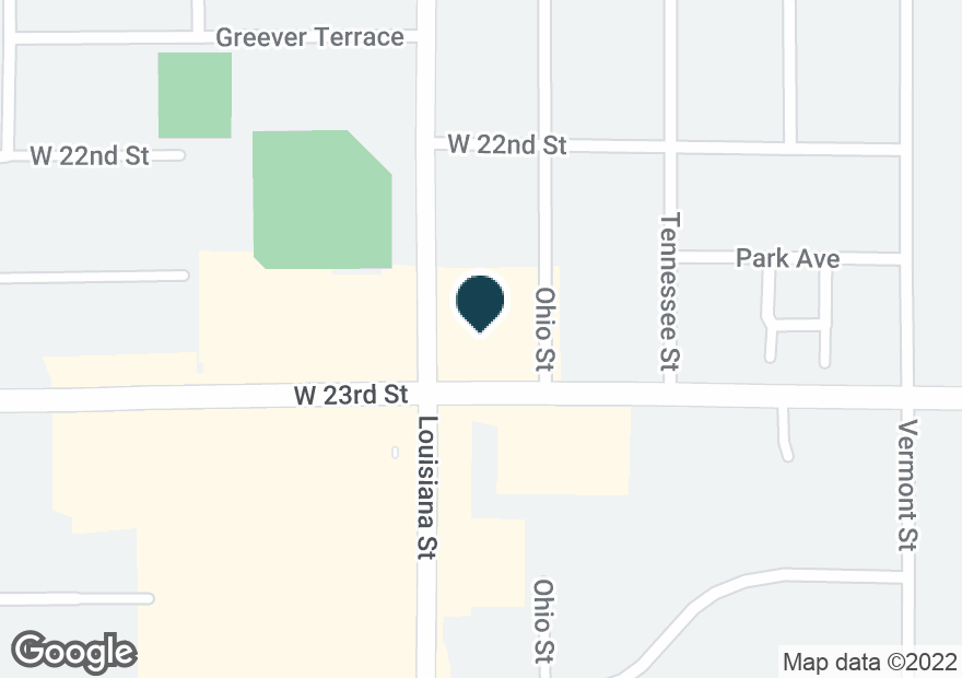 Google Map of400 W 23RD ST