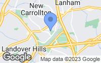 Map of Lanham, MD
