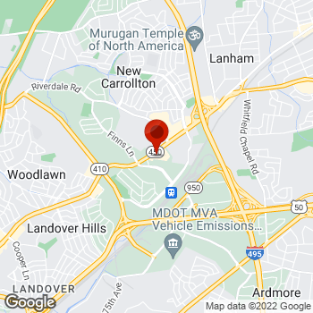 Map of Staples® Print & Marketing Services at 7933 Annapolis Road, Lanham, MD 20706