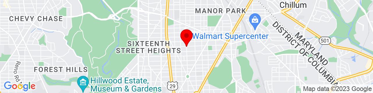 Google Map of 38.9541459, -77.0222063