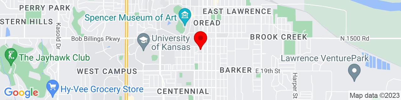 Google Map of 38.954474, -95.24015