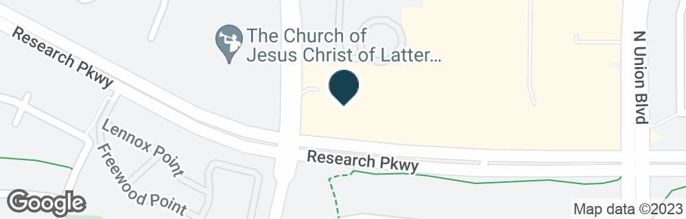 Google Map of8705 LEXINGTON DR