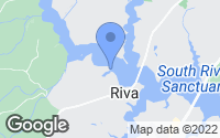 Map of Riva, MD