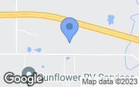 Map of De Soto, KS