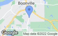 Map of Boonville, MO