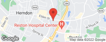 Map of 203 Elden St in Herndon