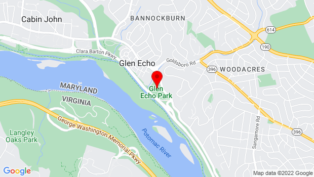 Google Map of 7300 MacArthur Blvd., Glen Echo, MD 20812