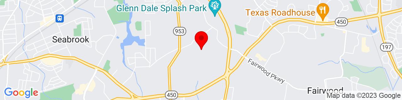 Google Map of 38.966507, -76.80465199999999