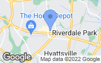 Map of Hyattsville, MD