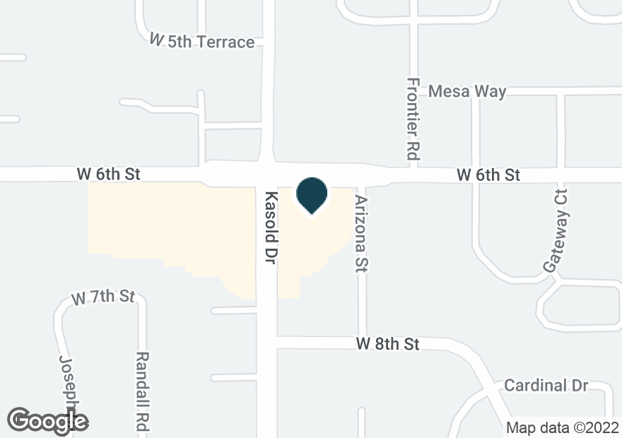 Google Map of3421 W 6TH ST