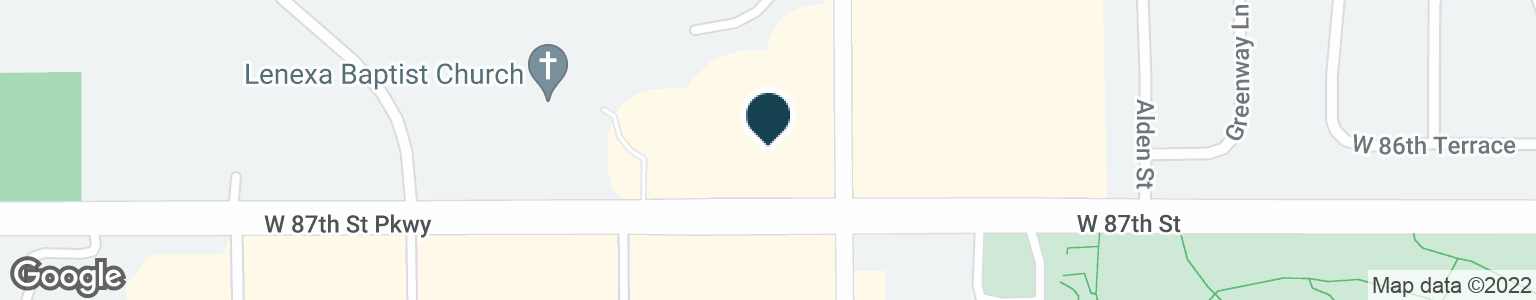 Google Map of15100 W 87TH STREET PKWY
