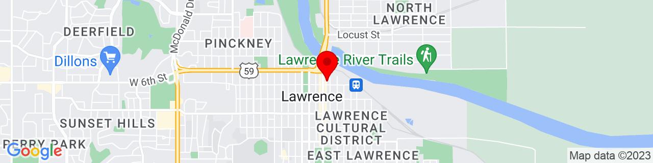 Google Map of 38.9716689, -95.2352501