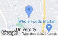 Map of University Park, MD