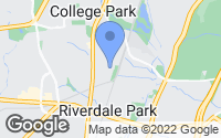 Map of College Park, MD