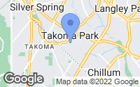 Map of Takoma Park, MD