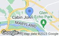 Map of Cabin John, MD