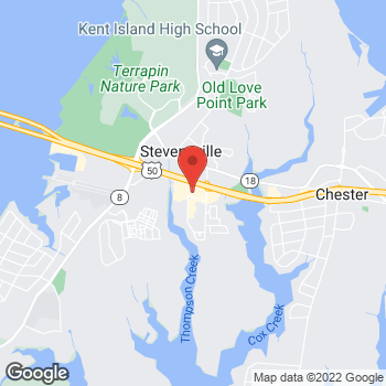 Map of Tuesday Morning at 380 Thompson Creek Rd, Stevensville, MD 21666