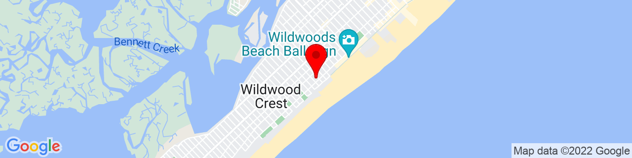 Google Map of 38.9772189, -74.8256318
