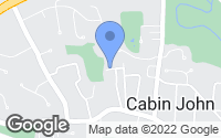 Map of Cabin John, MD