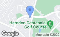 Map of Herndon, VA