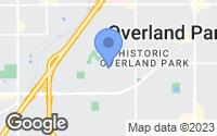 Map of Overland Park, KS