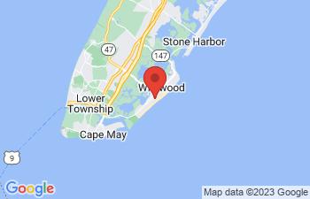 Map of Wildwood Crest