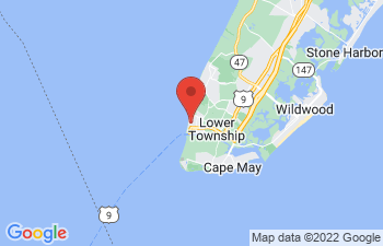 Map of North Cape May